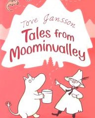 Cover art for Tove Jansson's 'Tales from Moominvalley', 1962.