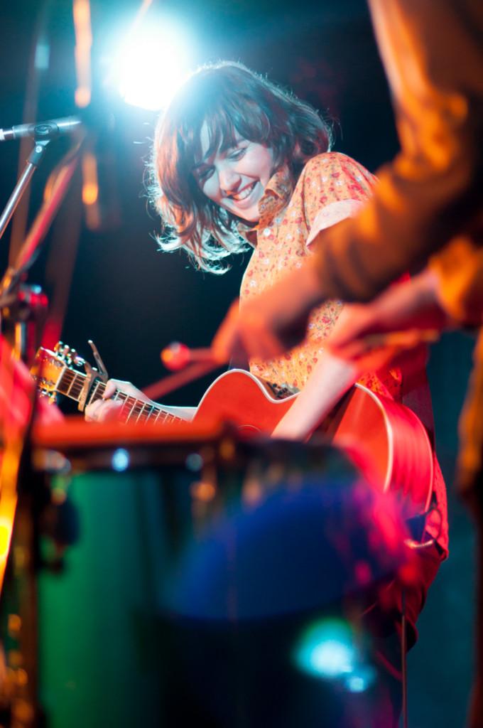 Courtney Barnett, East Brunswick Club. Photo: Kate Seabrook (c) 2010