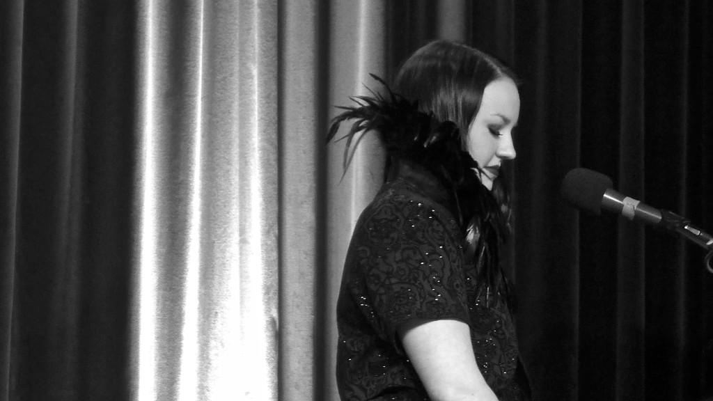 Weill creature: Hannah Day, Kookaburra Club. Photo: Megan Spencer (c) 2015
