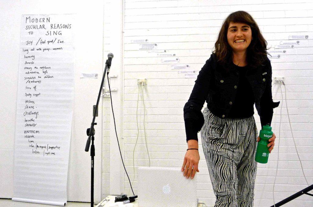 Maria White Modern Secular Reasons To Sing 2013 copy