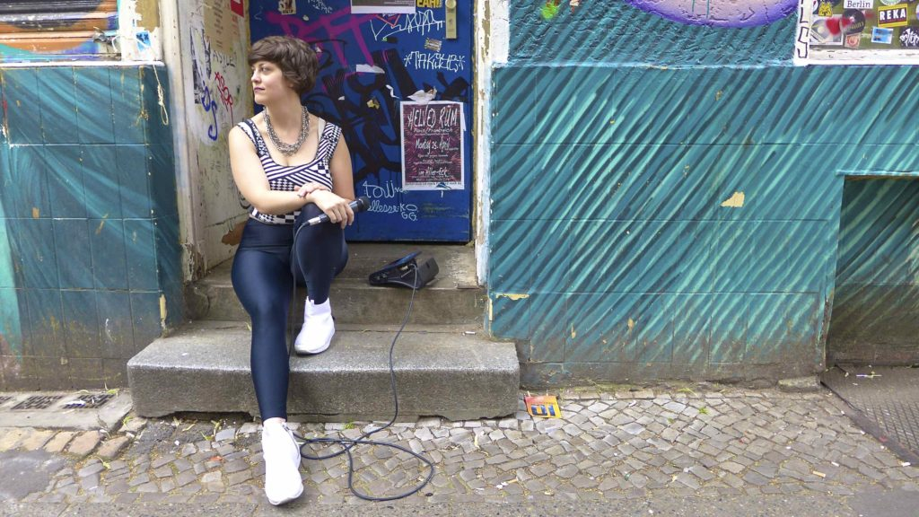 Out in the street: Tatyana in Neukölln. Photo: Megan Spencer (c) 2016