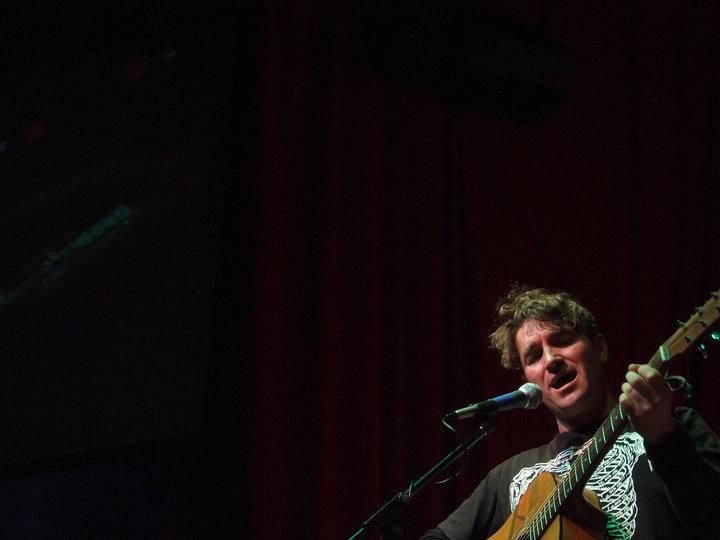 Cooperblack play the Animal Lounge, Ballarat. Photo: 2010, students of Ballarat University