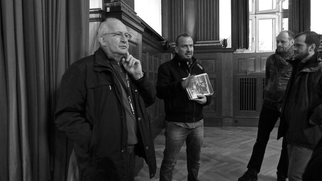 Edu Meyer & Thilo Schmied at Hansa Studio. Photo: Megan Spencer (c) 2016